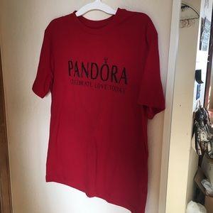 Pandora red tshirt
